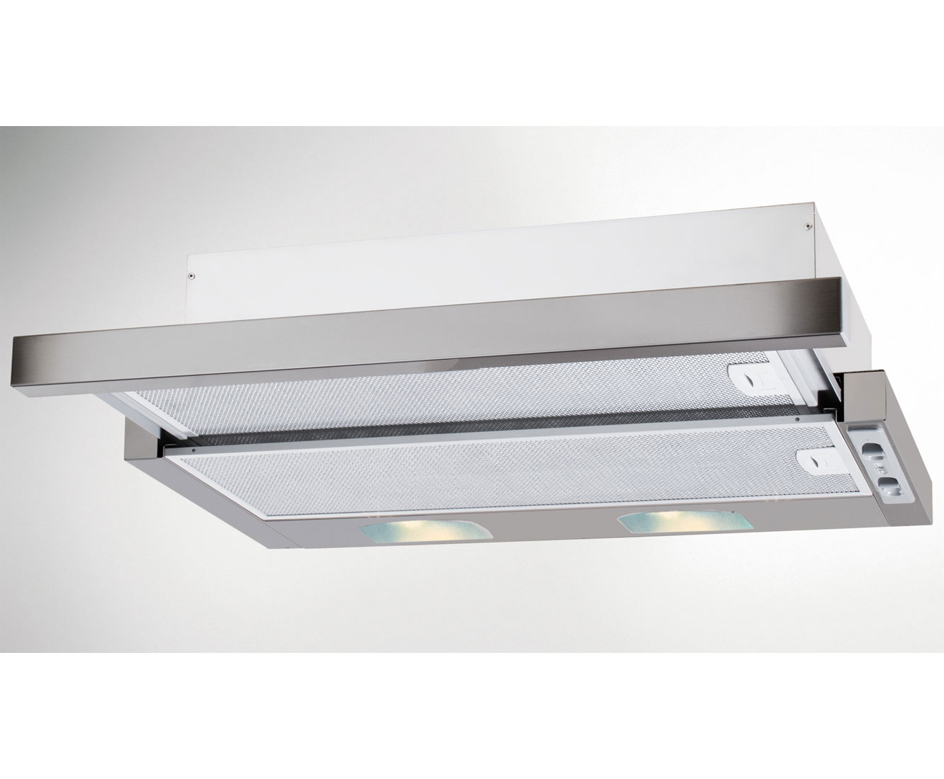 Beko CTB6254X Integrated Cooker Hood in Silver