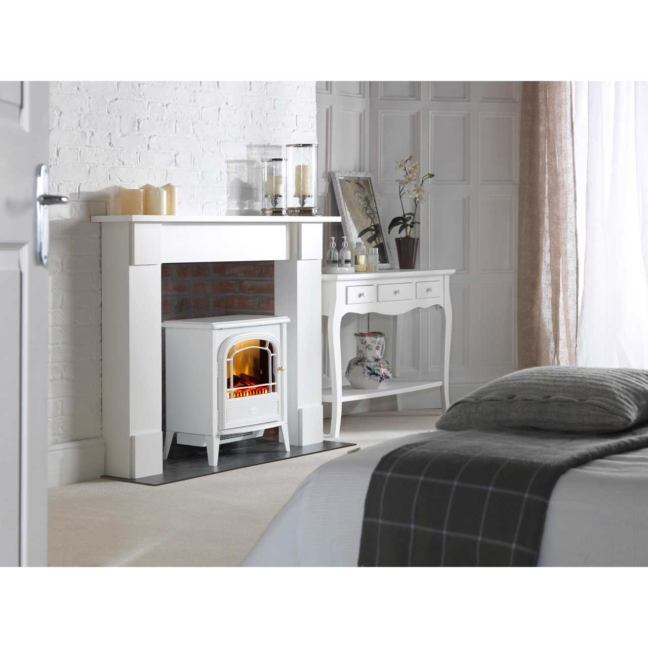 dimplex courchevel cvl20n log effect electric stove with remote