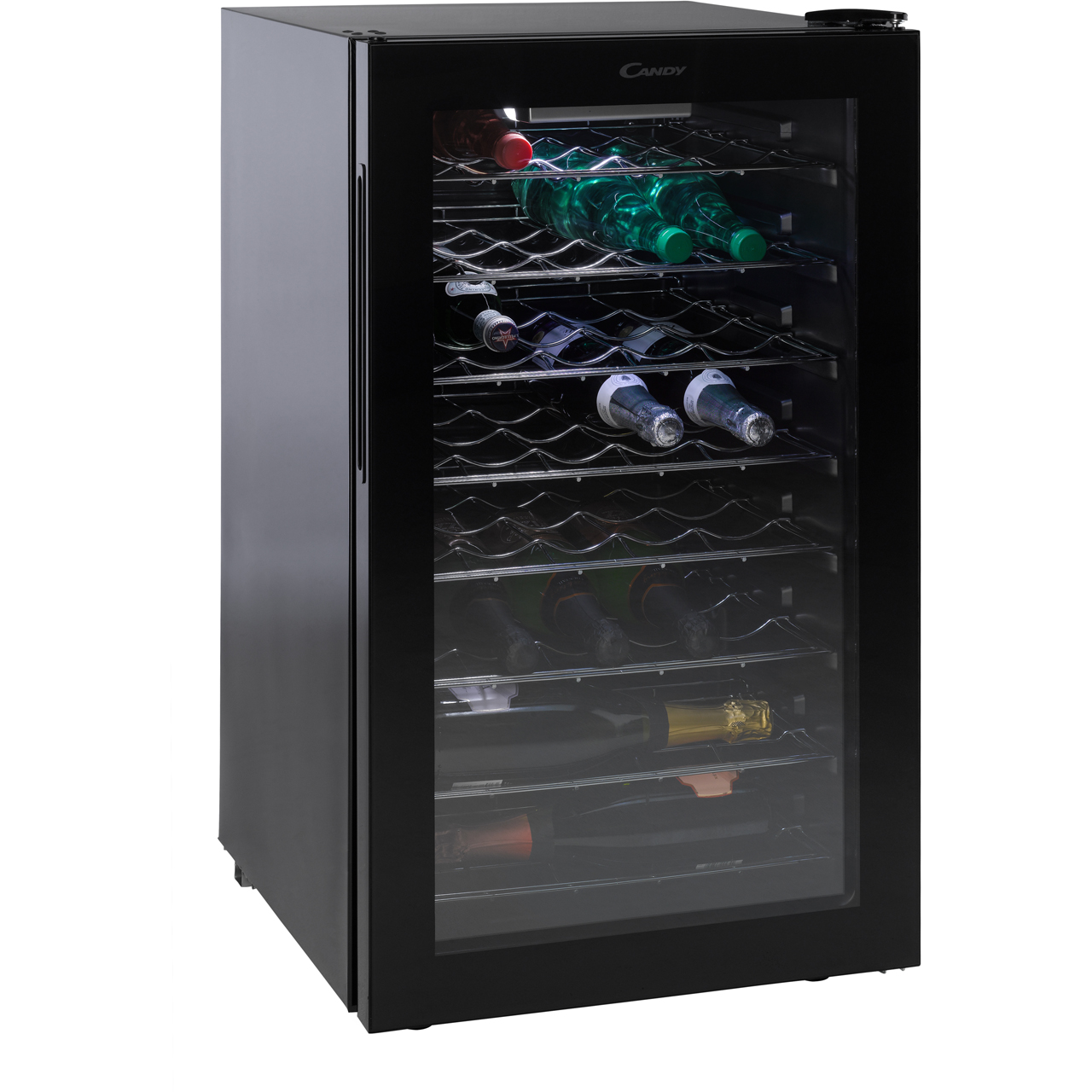 Candy Cwc150uk Wine Cooler Black
