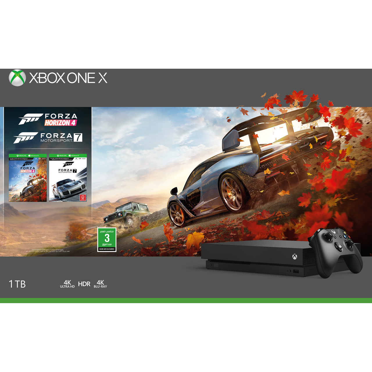 Details about Xbox One X 1TB with Digital Download Codes for Forza Horizon  4 and Forza