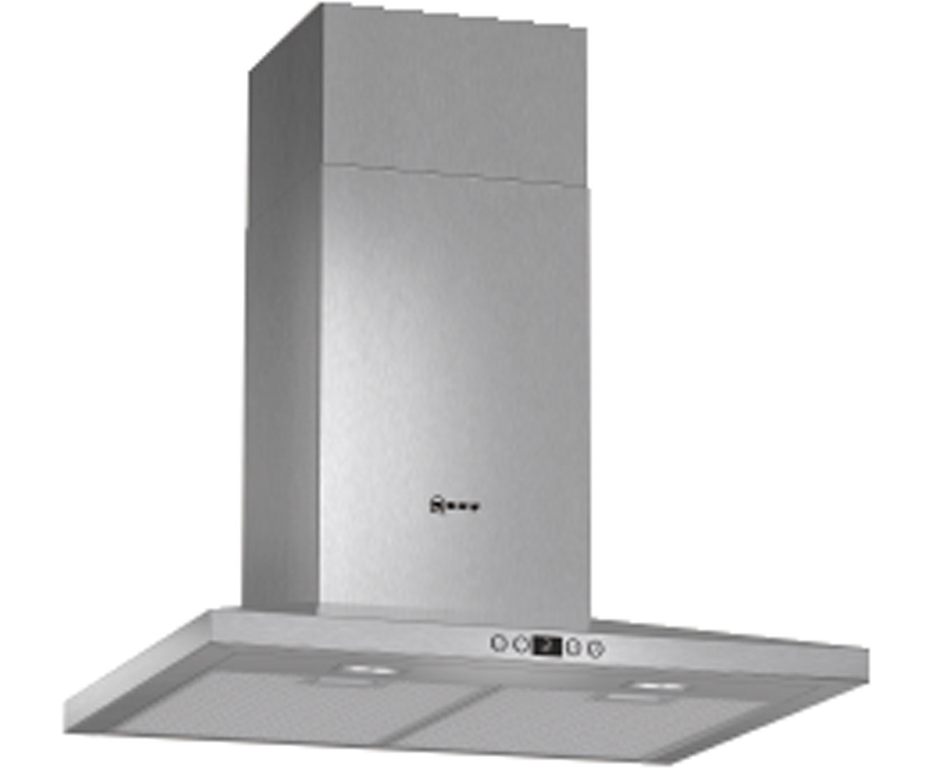 Neff D66SH52N0B Integrated Cooker Hood in Stainless Steel