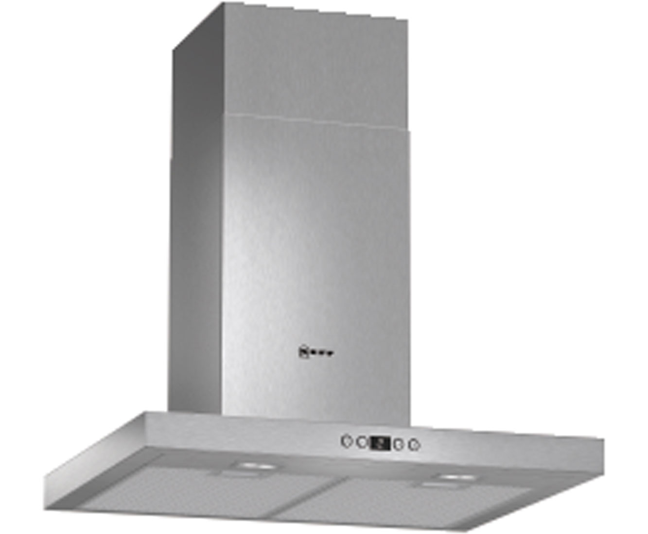 Neff D76SH52N0B Integrated Cooker Hood in Stainless Steel