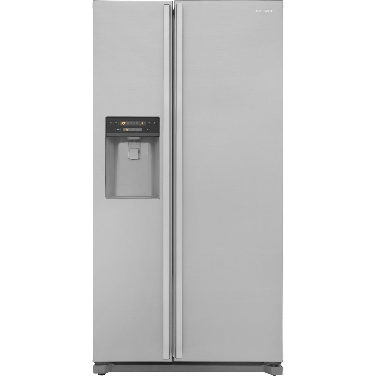Daewoo FRAX22D3S Free Standing American Fridge Freezer in Silver
