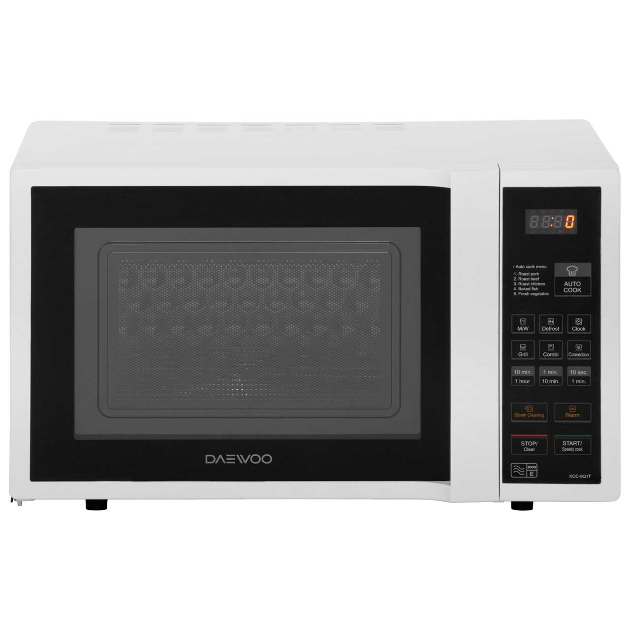 Daewoo KOC9Q1T 28 Litre Combination Microwave Oven - White