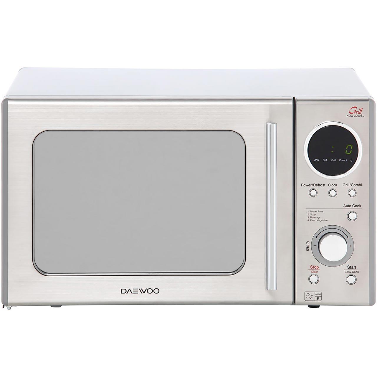 KOG3000SL_SI | Daewoo Microwave Oven | ao.com