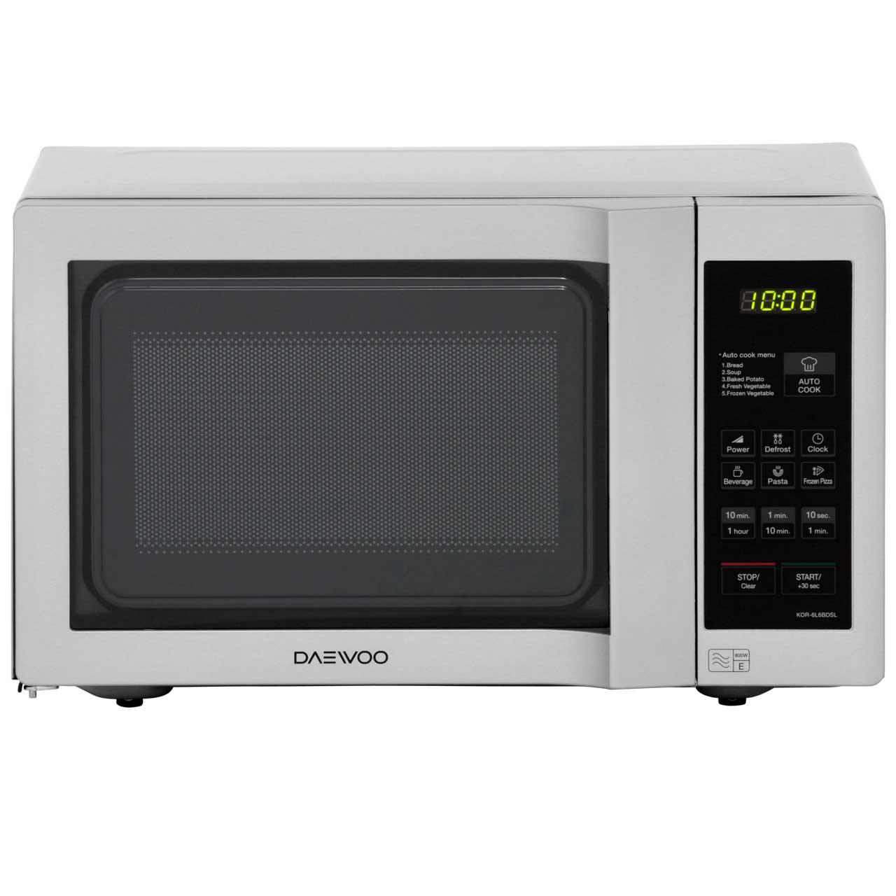 KOR6L6BDSL_SI | Daewoo Microwave Oven | 20L | ao.com