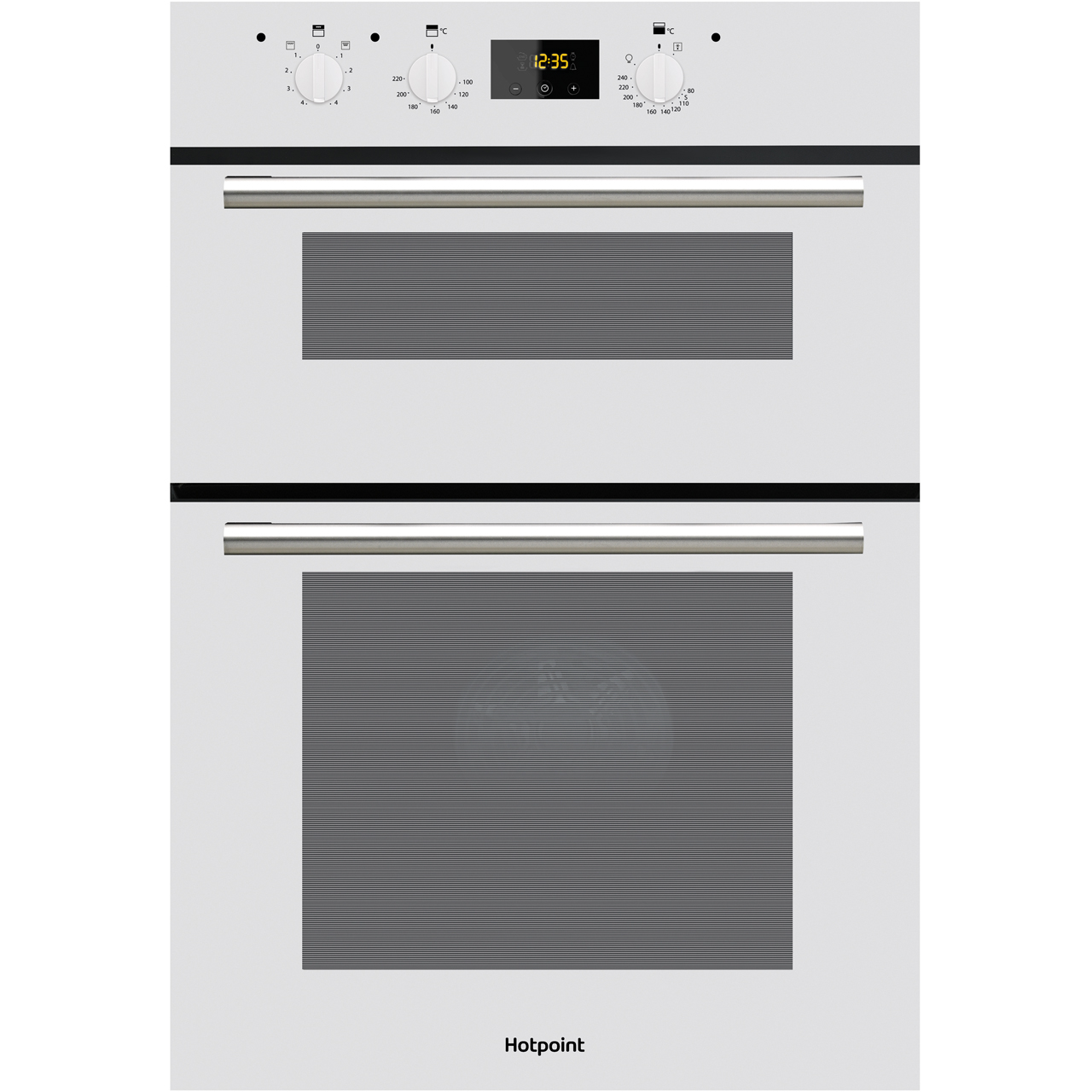 Hotpoint Oven Heating Element Replacement Dd2540wh Wh Hotpoint Built In Electric Double Oven Aocom