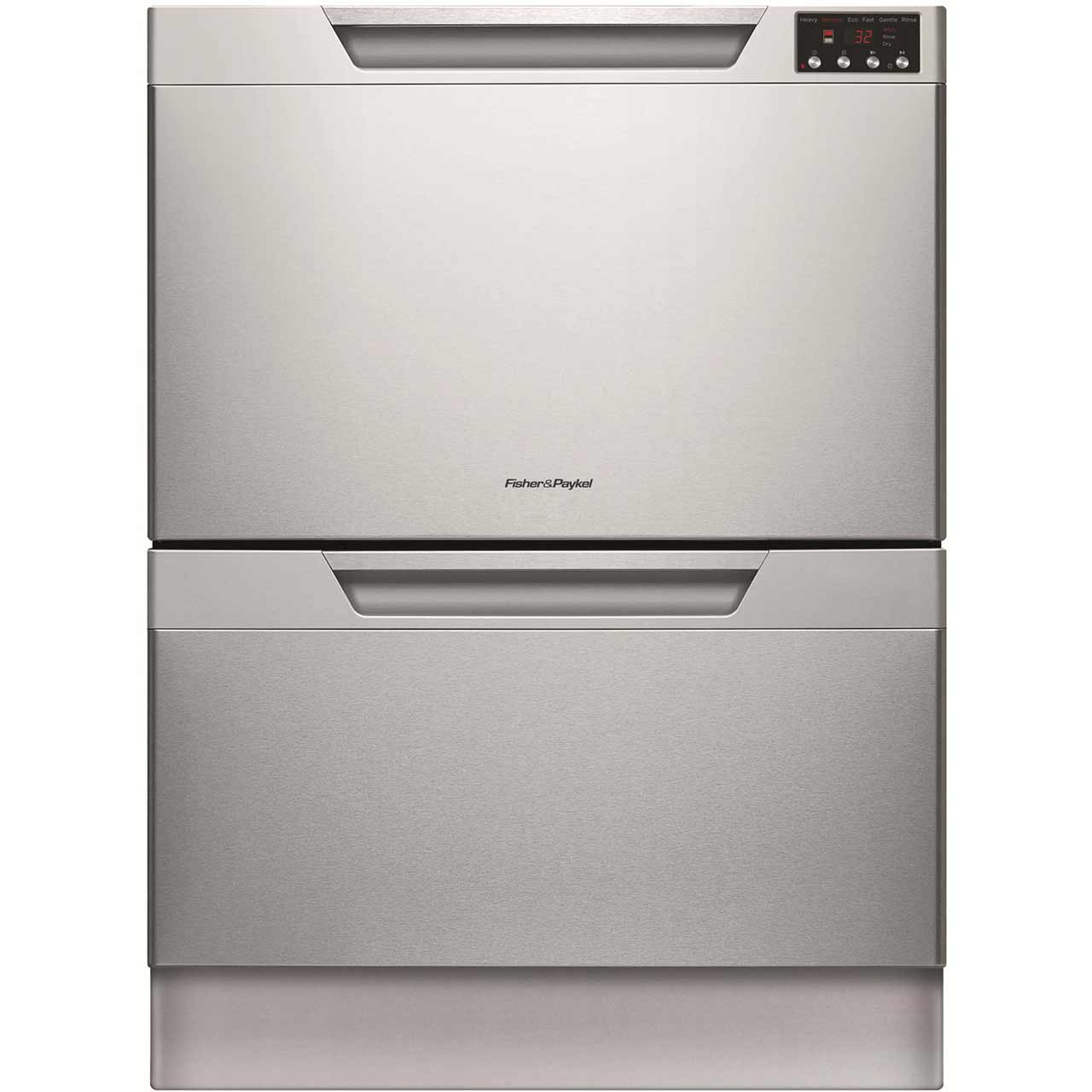 Fisher & Paykel Double DishDrawer? DD60DAHX8 Integrated Dishwasher in Stainless Steel
