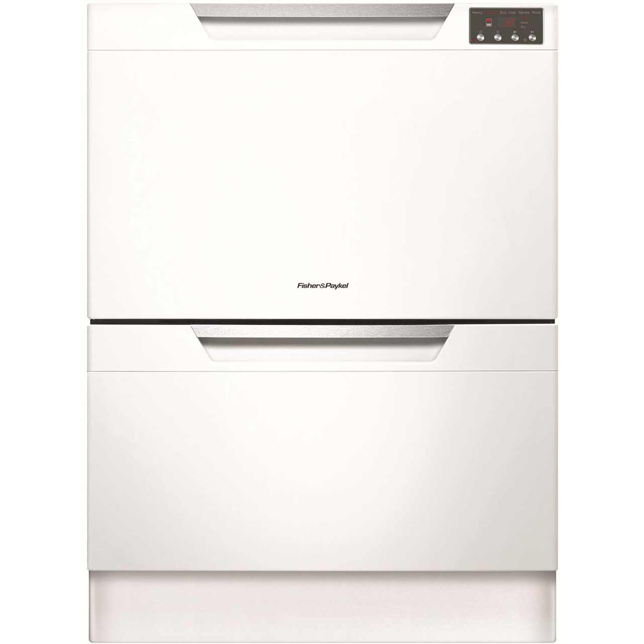 Fisher & Paykel Double DishDrawer? DD60DAHW8 Integrated Dishwasher in White