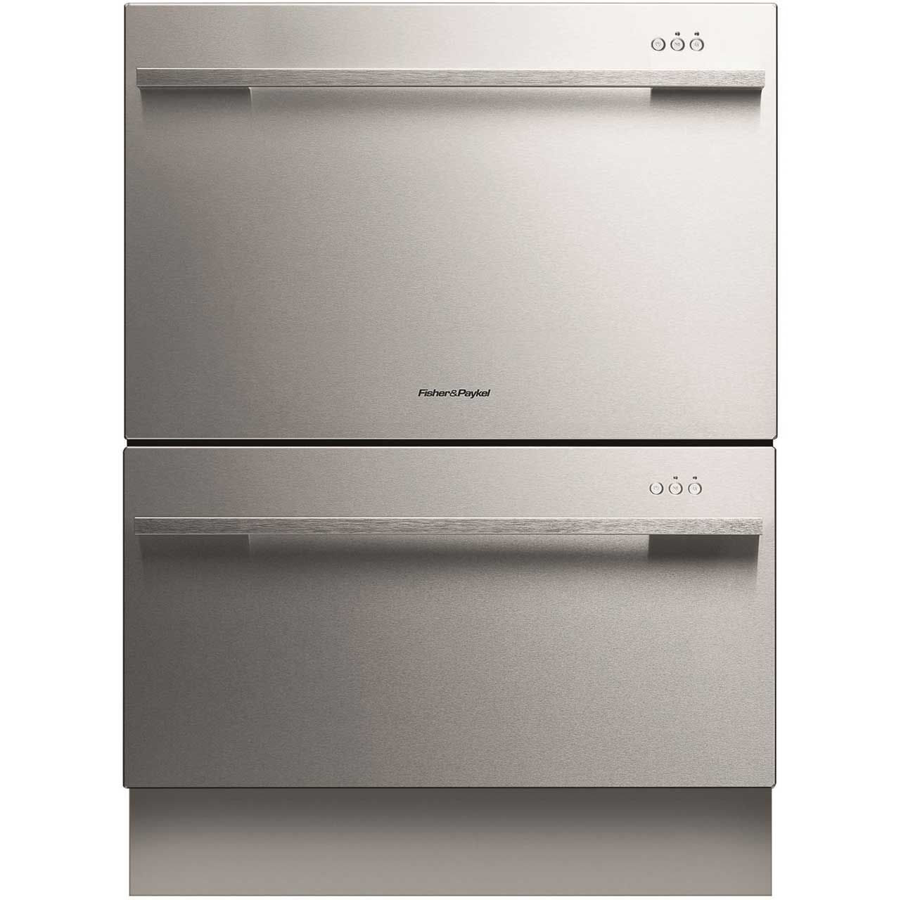 Fisher & Paykel Double DishDrawer? DD60DDFHX7 Integrated Dishwasher in Stainless Steel