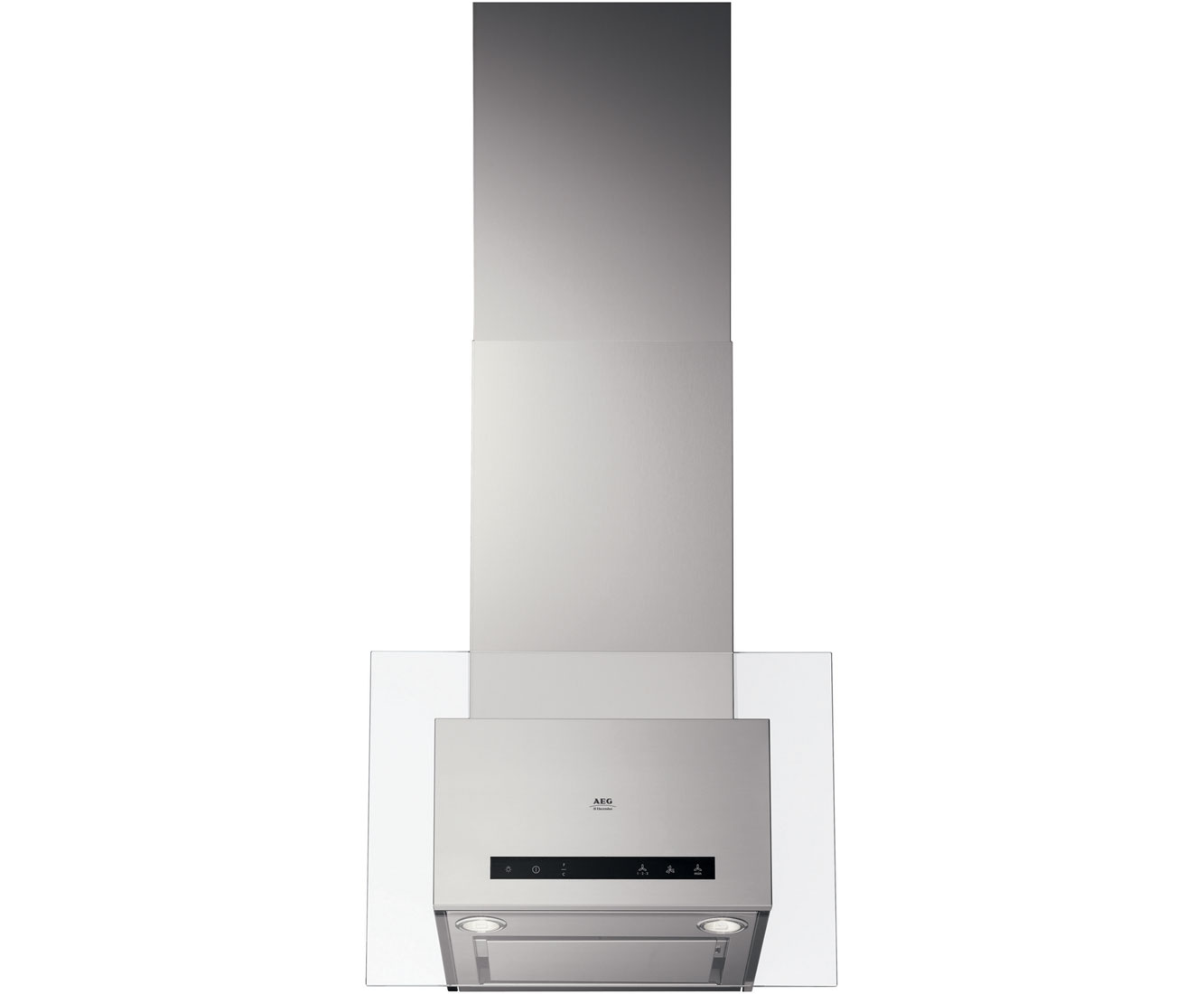 AEG Competence DD9863M Integrated Cooker Hood in Stainless Steel  Glass