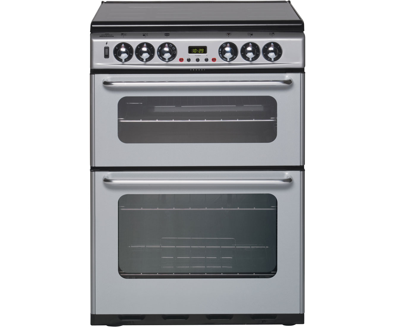 Newworld Newhome DF600TSIDOm Dual Fuel Cooker - Silver