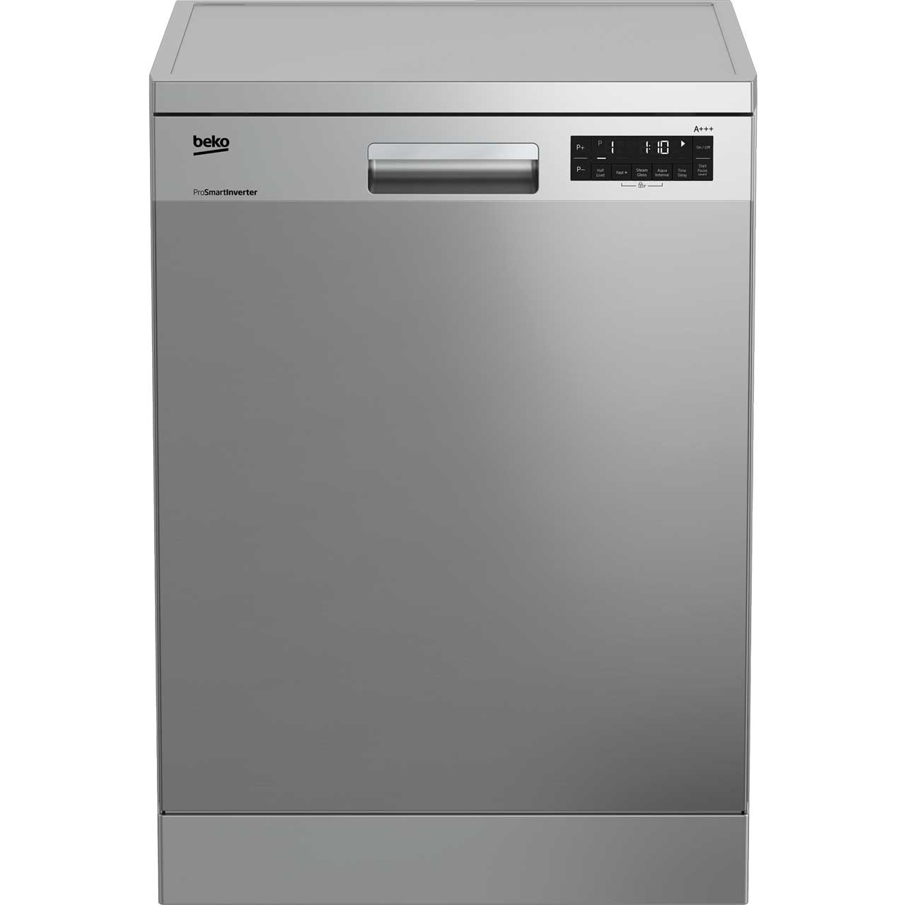 Beko DFN28R31X Free Standing Dishwasher in Stainless Steel