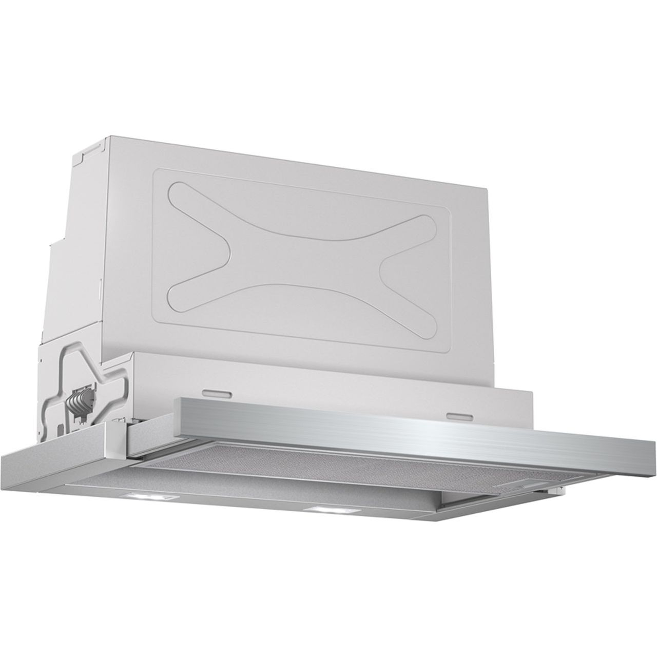 Bosch Serie 4 DFS067A50B Integrated Cooker Hood in Silver