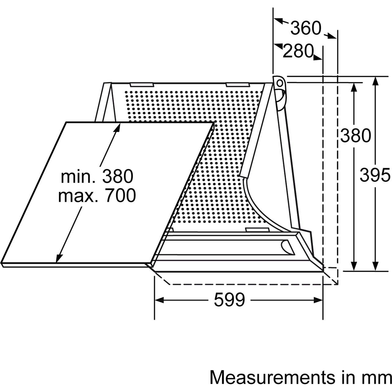dhe635bgb_si_bosch_cookerhoods_01_dim_l bosch serie 4 dhe635bgb 60 cm integrated cooker hood silver grey rangemaster cooker hood wiring diagram at n-0.co