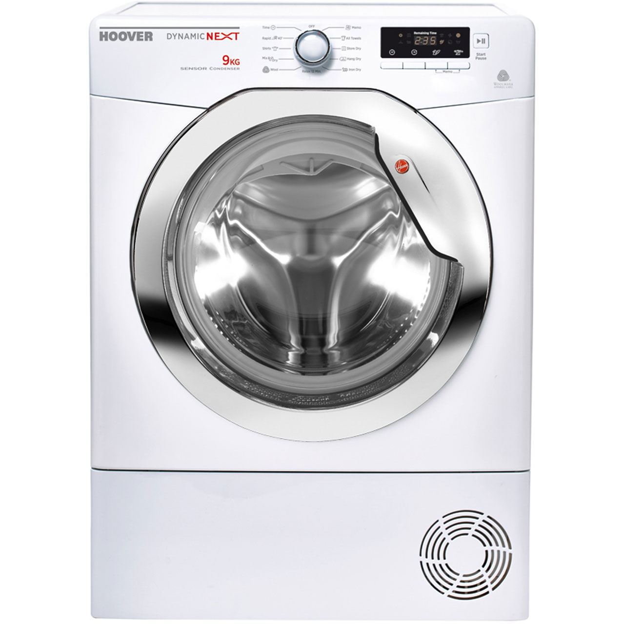 Hoover Dynamic Next DNCD91B Condenser Tumble Dryer - White
