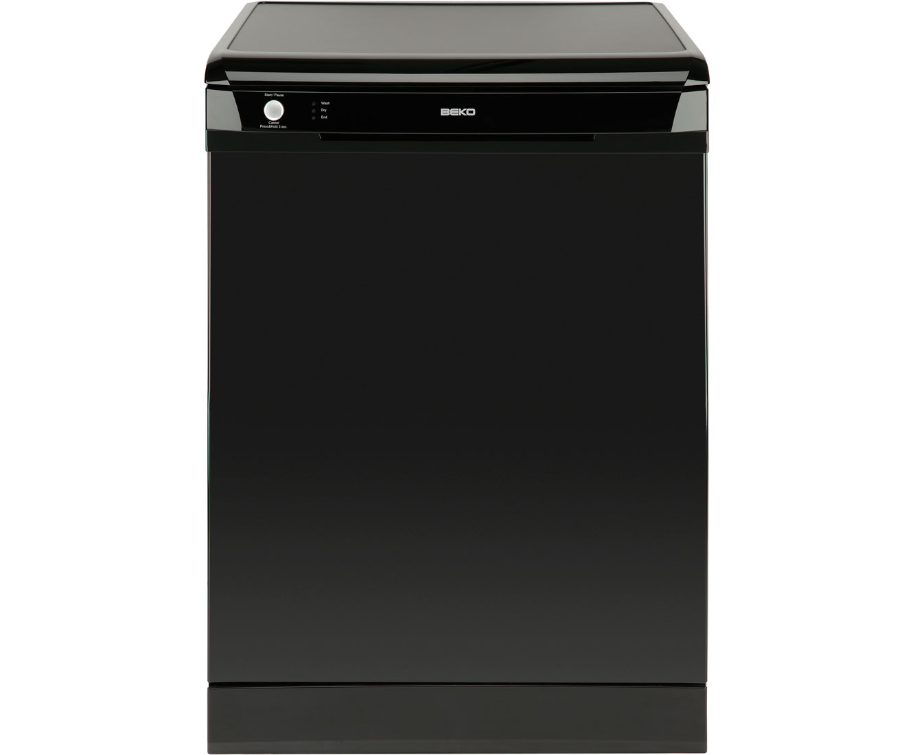 Beko DSFN1534B Standard Dishwasher - Black