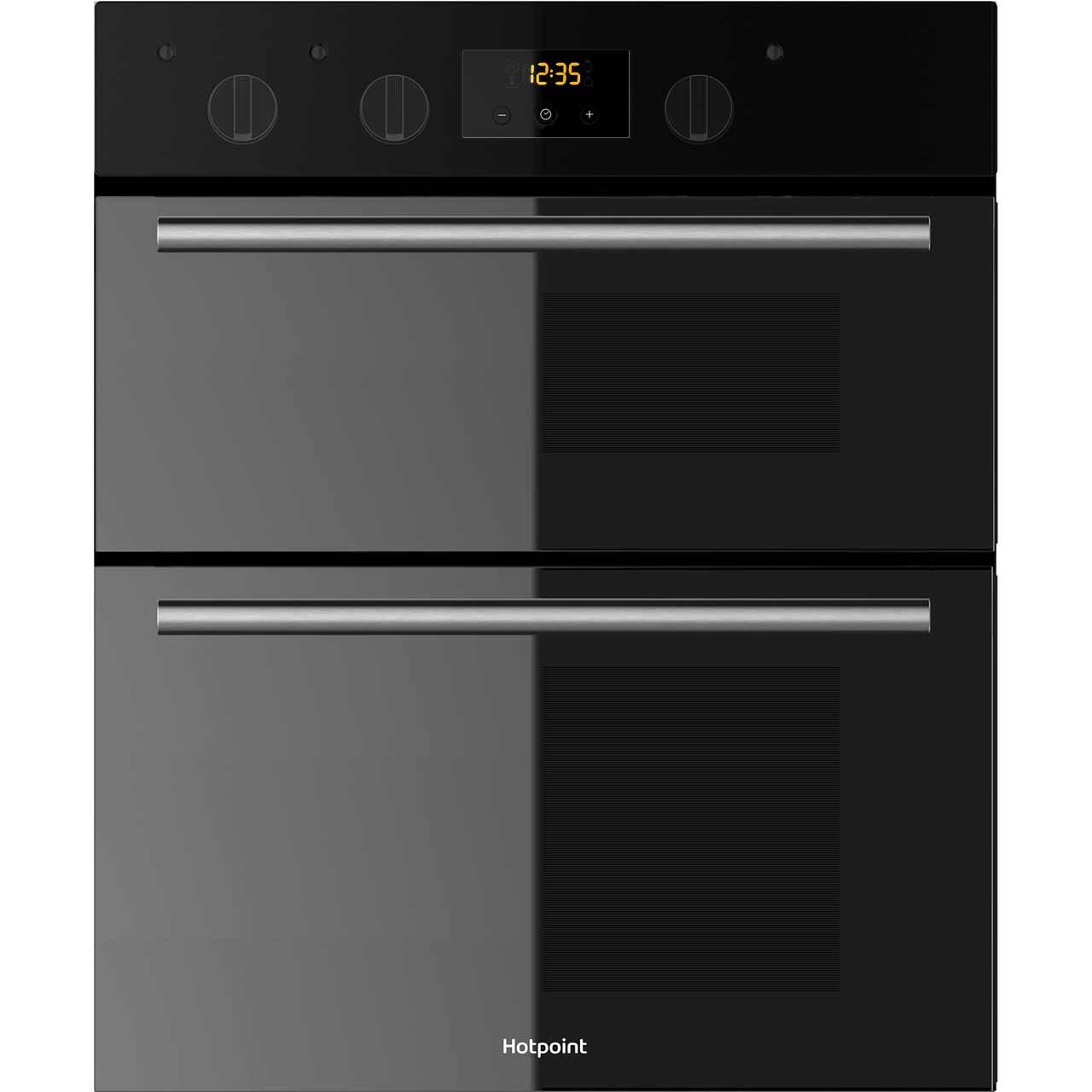 Hotpoint Class 2 DU2540BL Built Under Double Oven in Black