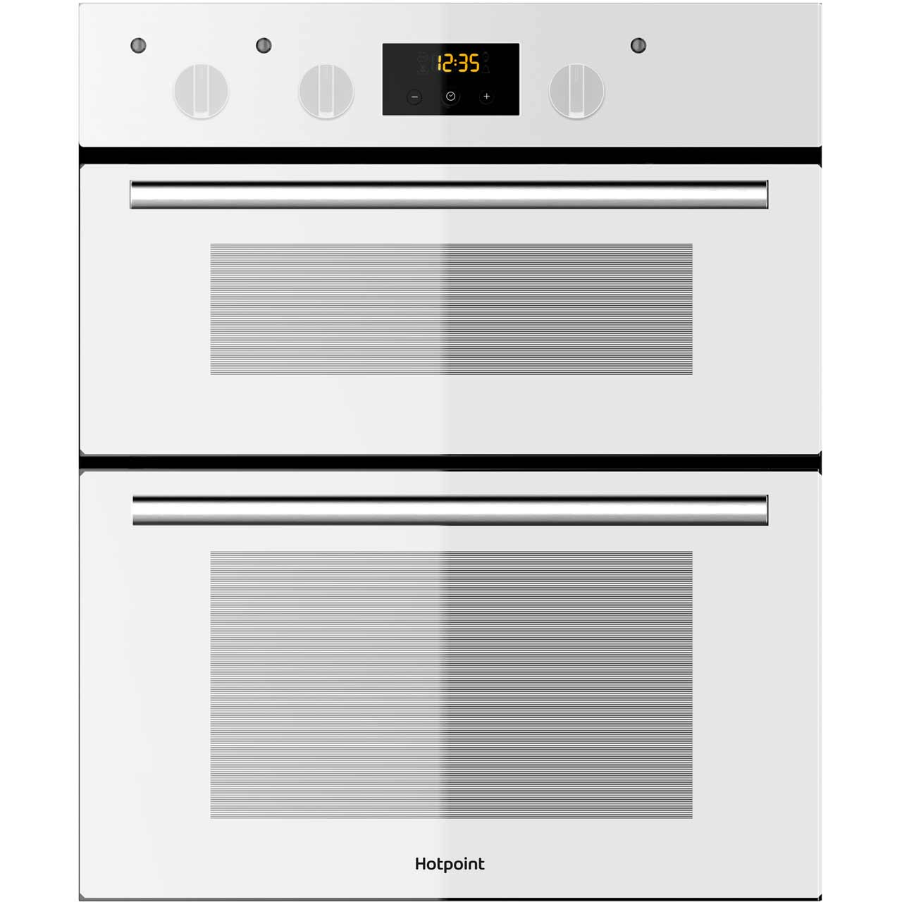 Hotpoint Class 2 DU2540WH Built Under Double Oven in White