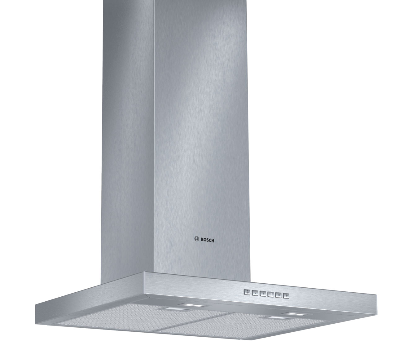 Bosch Serie 4 DWB067A50B Integrated Cooker Hood in Brushed Steel