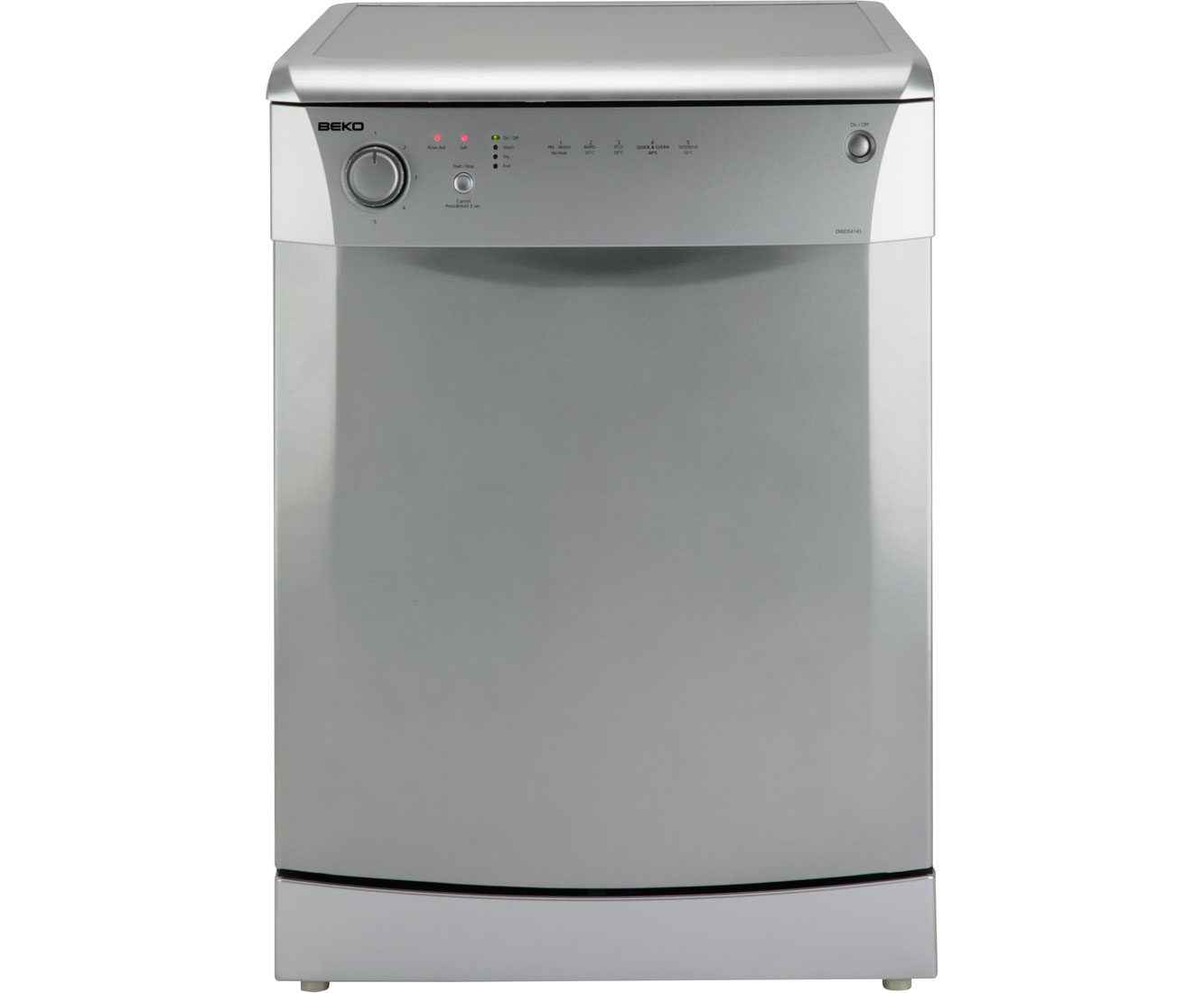 Silver beko dishwasher