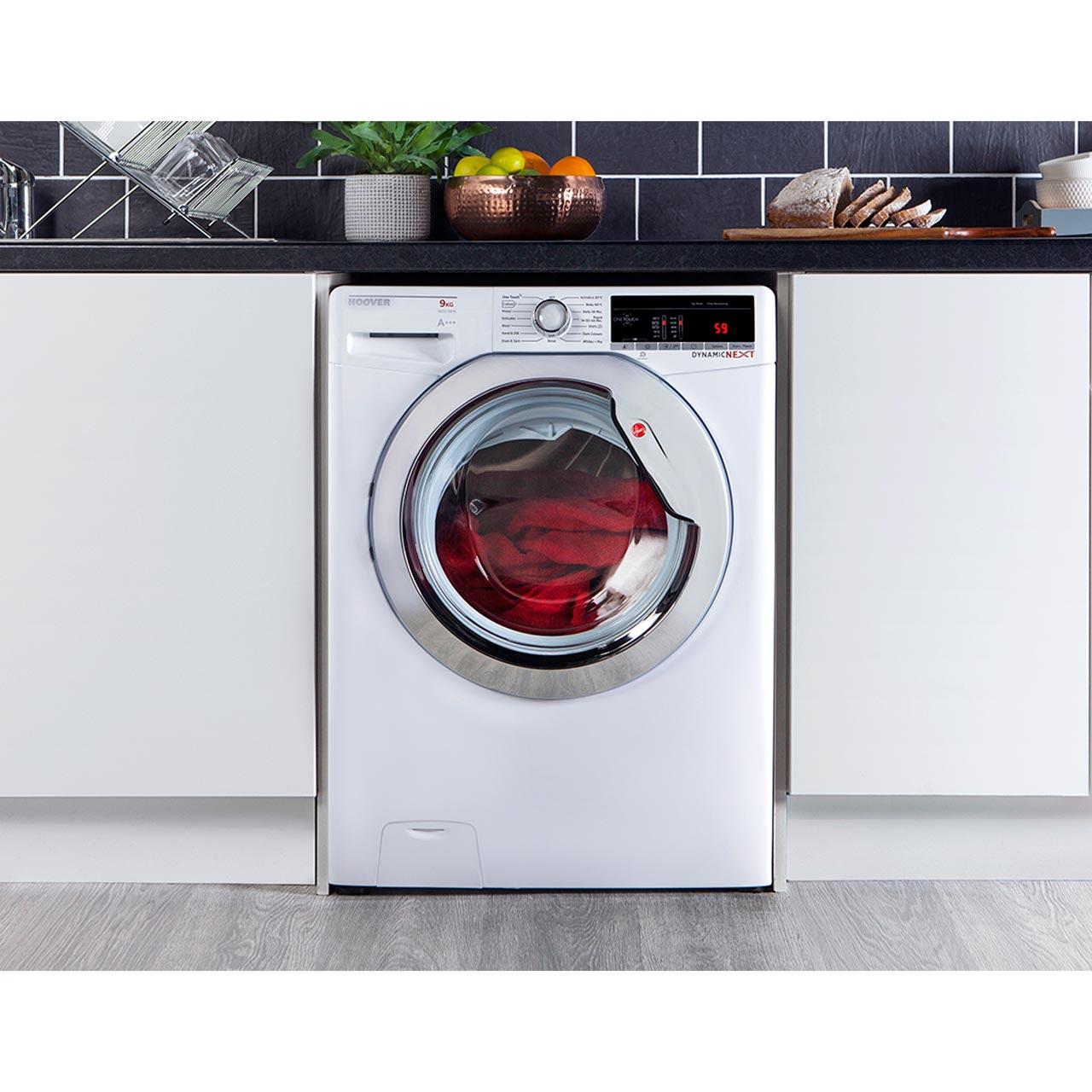 Hoover Dynamic Next Dxoa69c3 9kg Washing Machine With 1600