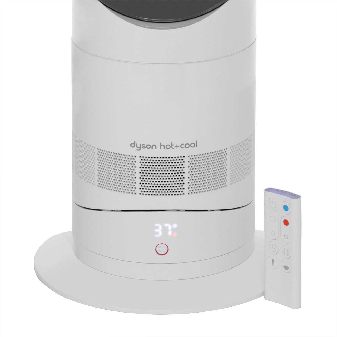 Dyson Am09 Hot Amp Cool Heater Fan Heater White Nickel