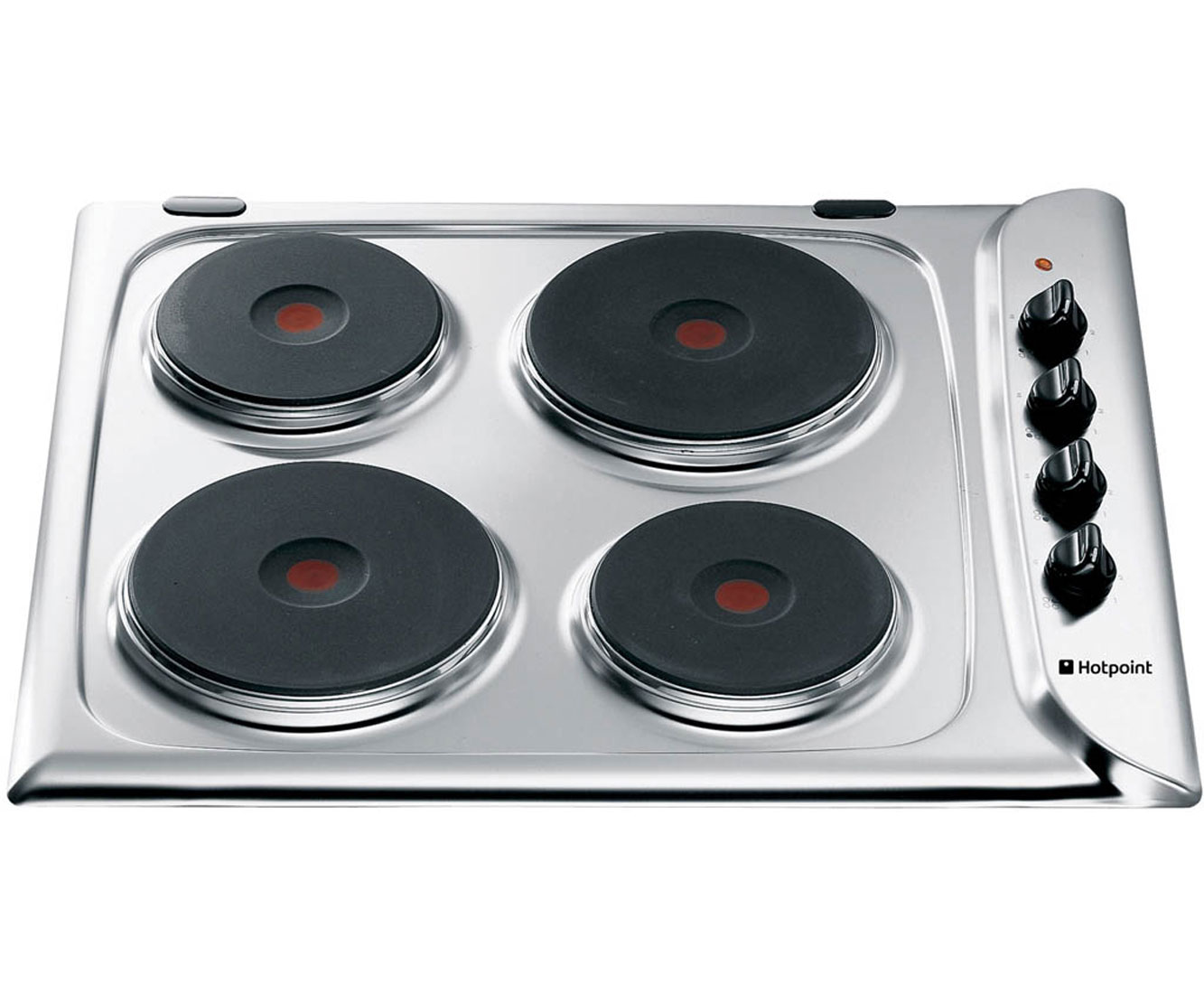Hotpoint E604X Integrated Electric Hob in Stainless Steel