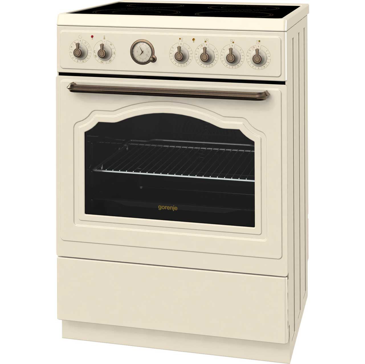 Baumatic Bce625iv Free Standing Cooker In Ivory