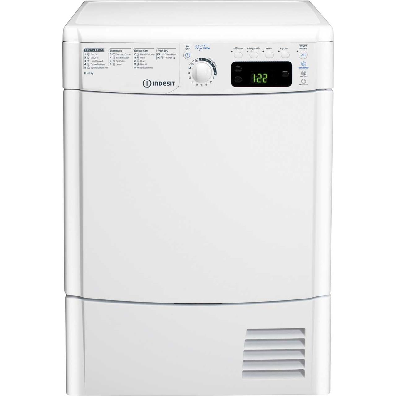 buy cheap indesit tumble dryer compare tumble dryers. Black Bedroom Furniture Sets. Home Design Ideas