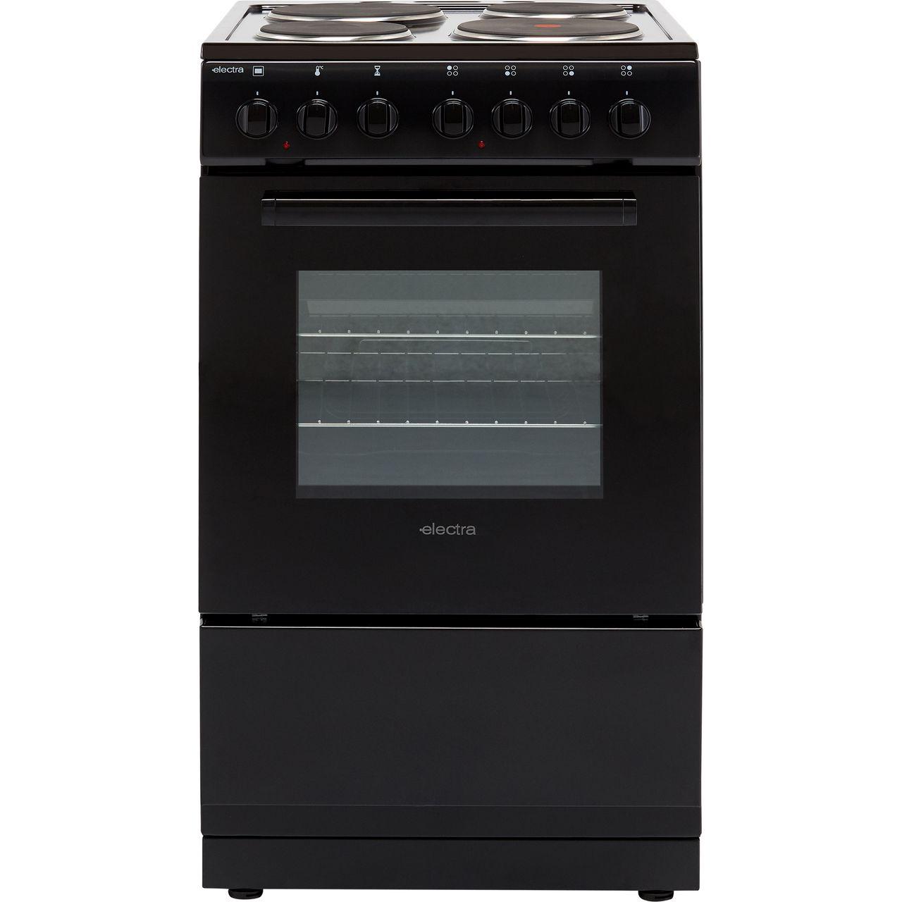 se50b bk electra electric cooker black. Black Bedroom Furniture Sets. Home Design Ideas