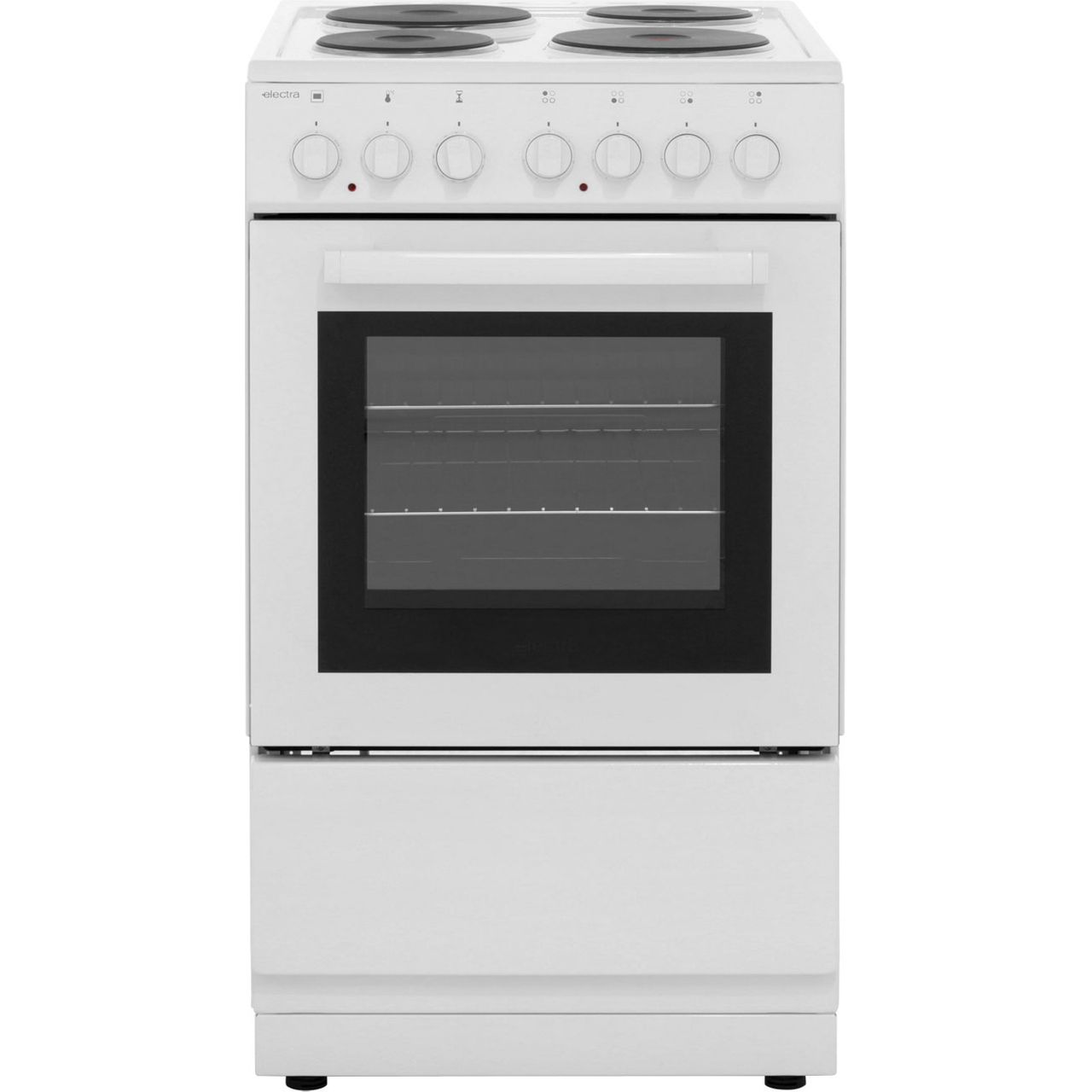 Se50w Wh Electra Electric Cooker White Wiring Zones Kitchen