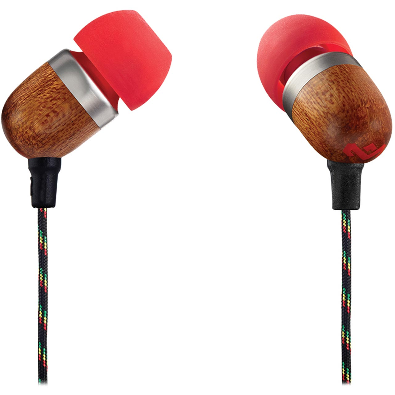 1f8ac04e81a ... House of Marley Smile Jamaica In-Ear Headphones - Fire Red - EM-JE041  ...