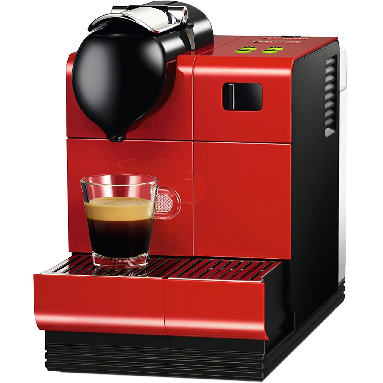 nespresso by de 39 longhi en521 r lattissima coffee machine free 75 nespresso club voucher. Black Bedroom Furniture Sets. Home Design Ideas
