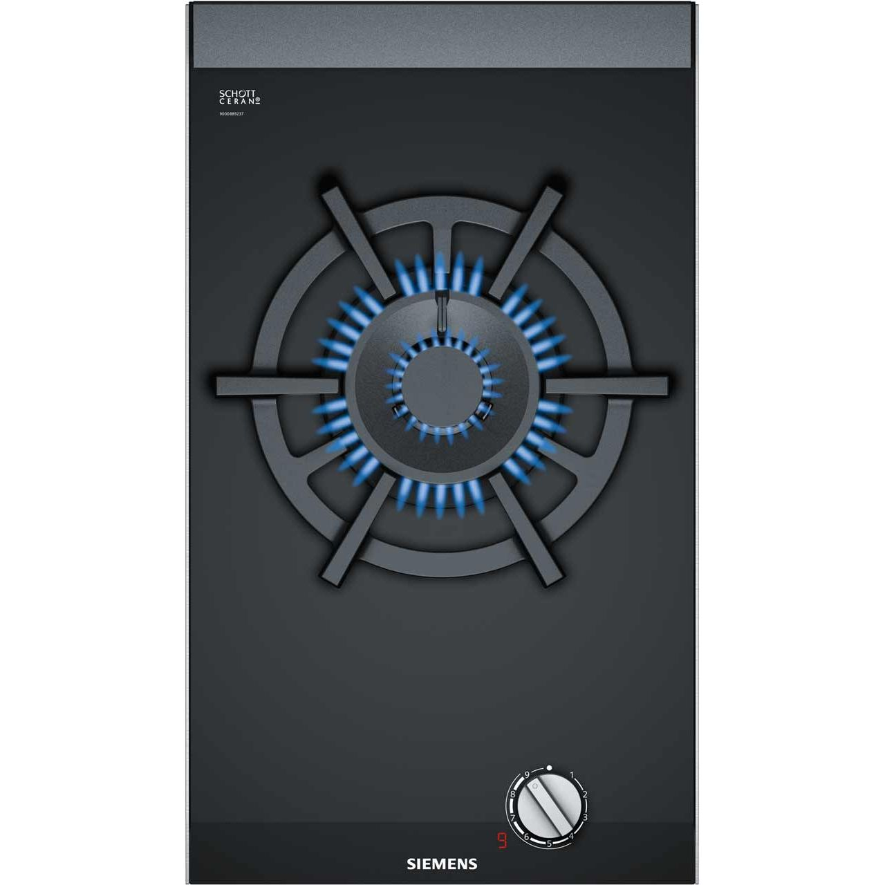 Details About Siemens ER3A6AD70 IQ 700 Built In 30cm 1 Burners Gas Hob Black