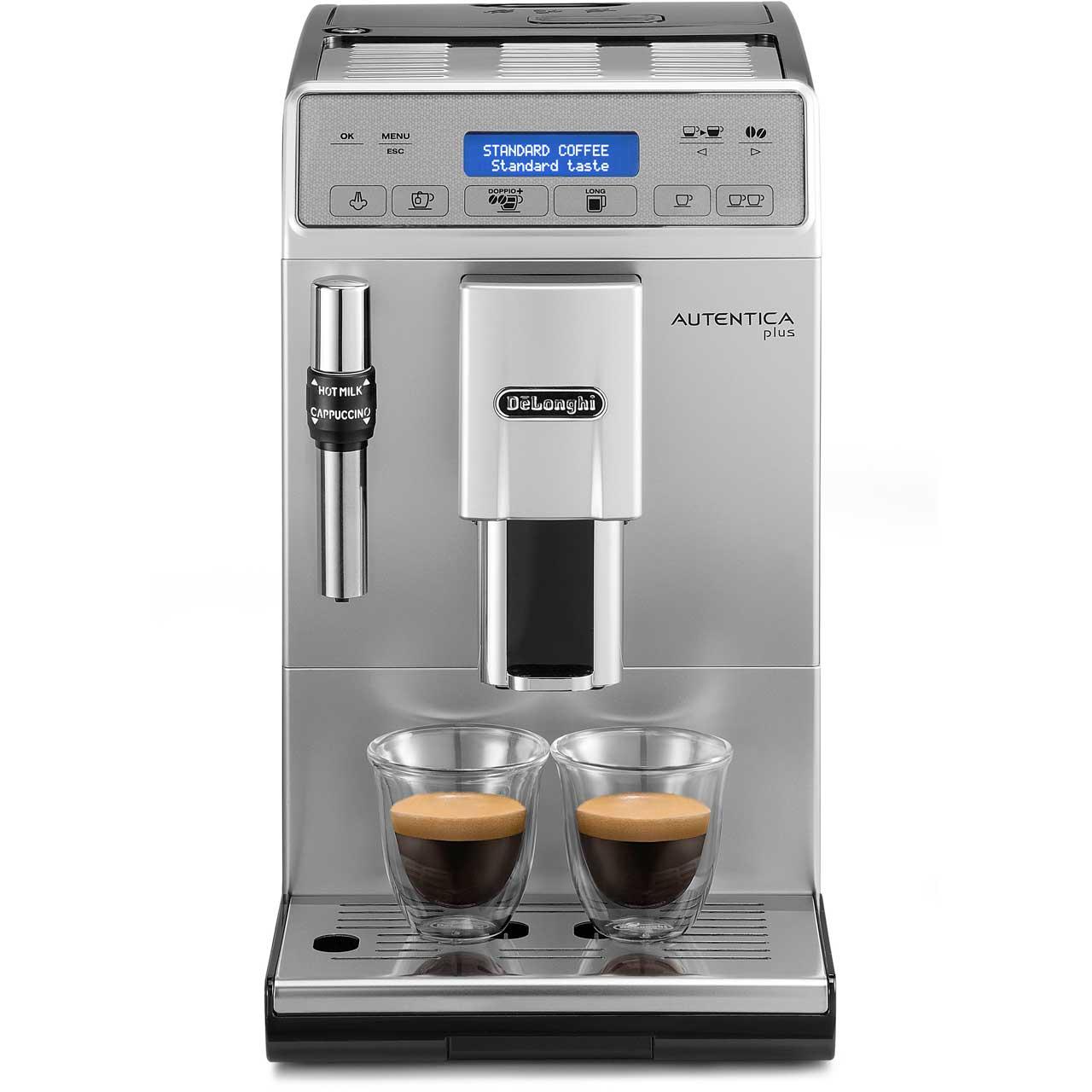 9a32caa8772 ... De'Longhi Autentica ETAM29.620.SB Bean to Cup Coffee Machine - Silver  ...