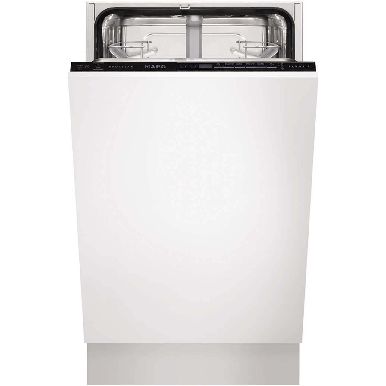 AEG Favorit F55412VI0 Integrated Slimline Dishwasher in White