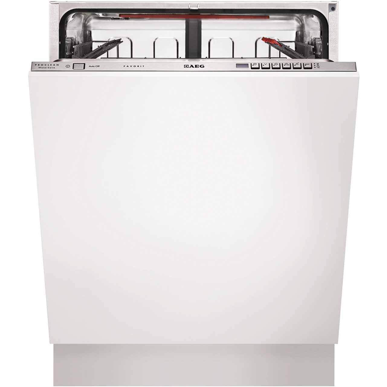 AEG Favorit F67622VI0P Integrated Dishwasher in White
