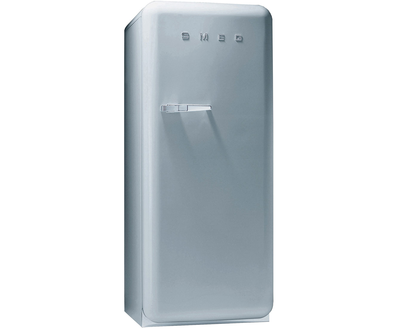 Smeg Right Hand Hinge FAB28QX1 Fridge with Ice Box - Silver