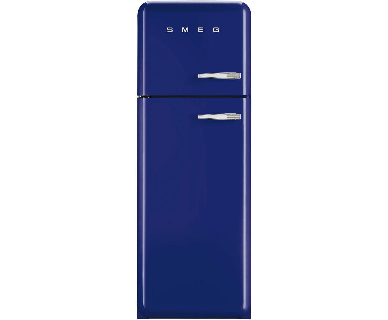 Blue fridge freezer shop for cheap fridge freezers and for Smeg fridge