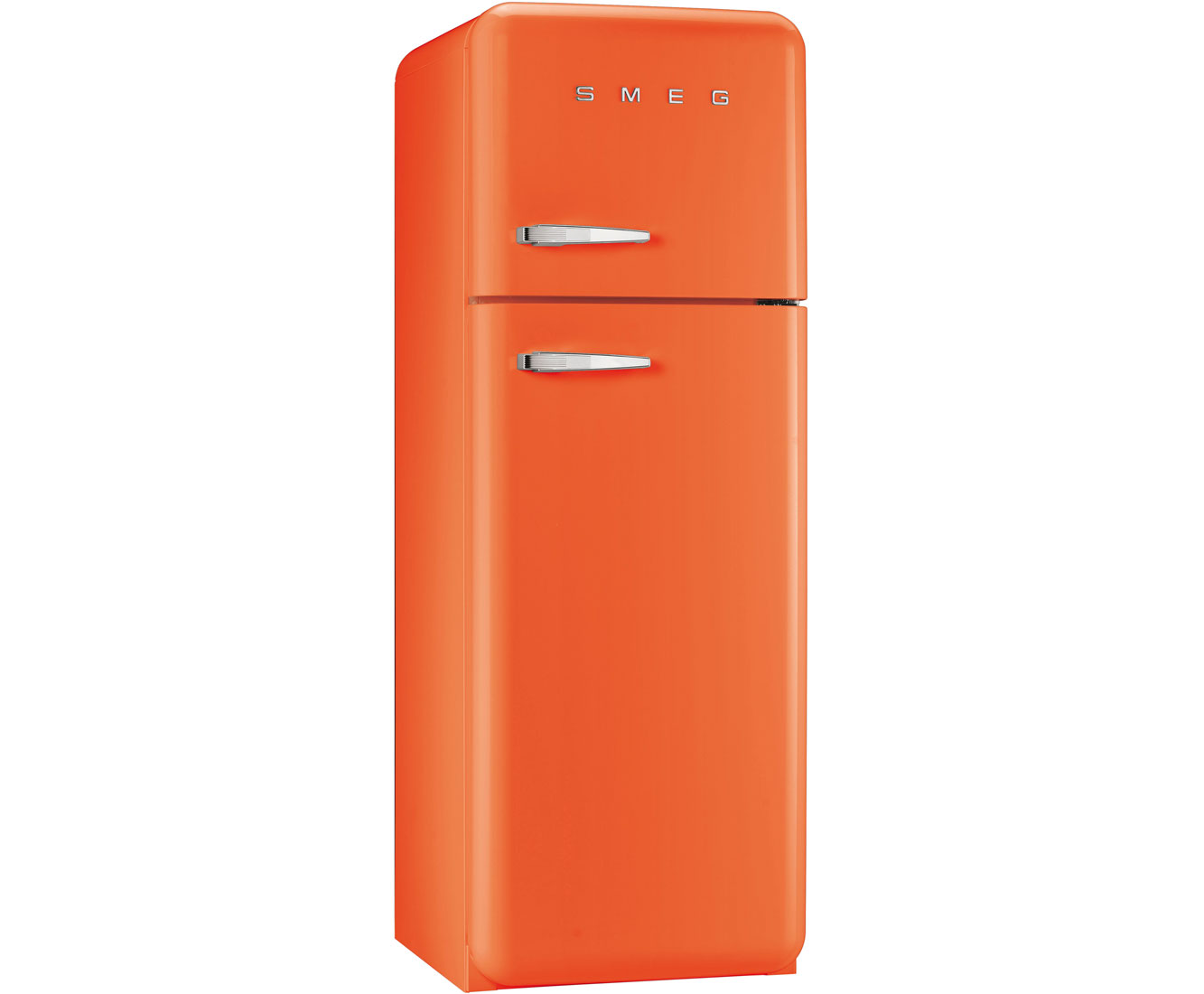 Smeg Right Hand Hinge FAB30RFO 70/30 Fridge Freezer - Orange