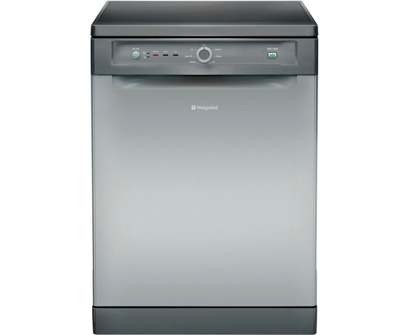 Hotpoint Style FDYB10011G Free Standing Dishwasher in Graphite