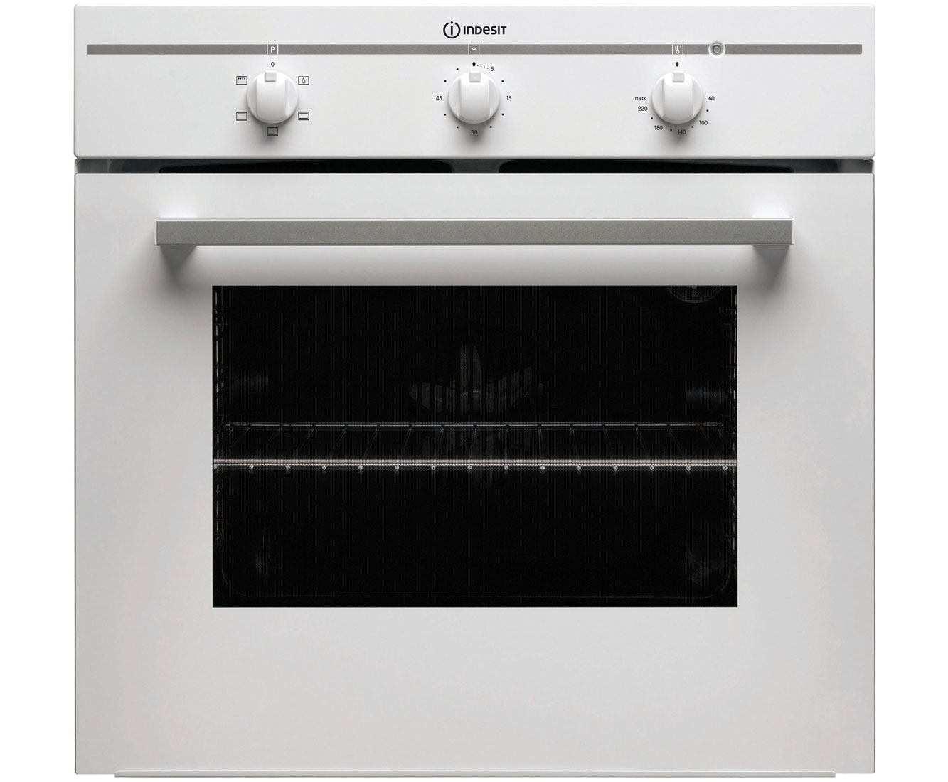 Indesit FIM21KBWH Built In Electric Single Oven - White