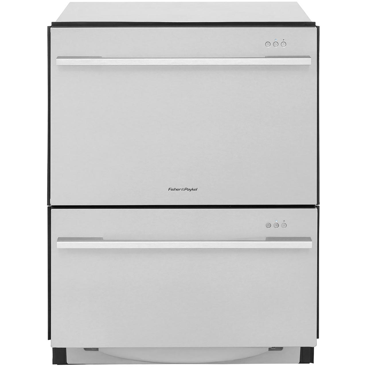 Fisher and paykel 2 drawer dishwasher - Fisher Paykel Double Dishdrawer Dd60ddfhx7 Fully Integrated Standard Dishwasher Stainless Steel Control Panel