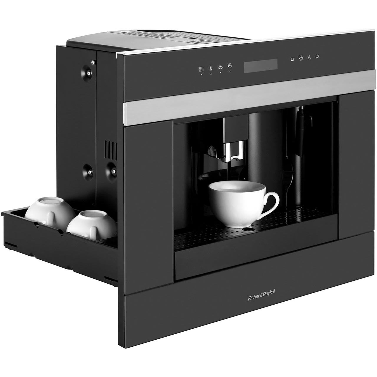 Fisher Paykel Designer Companion Eb60dsxb1 Built In Bean To Cup Coffee Machine Black