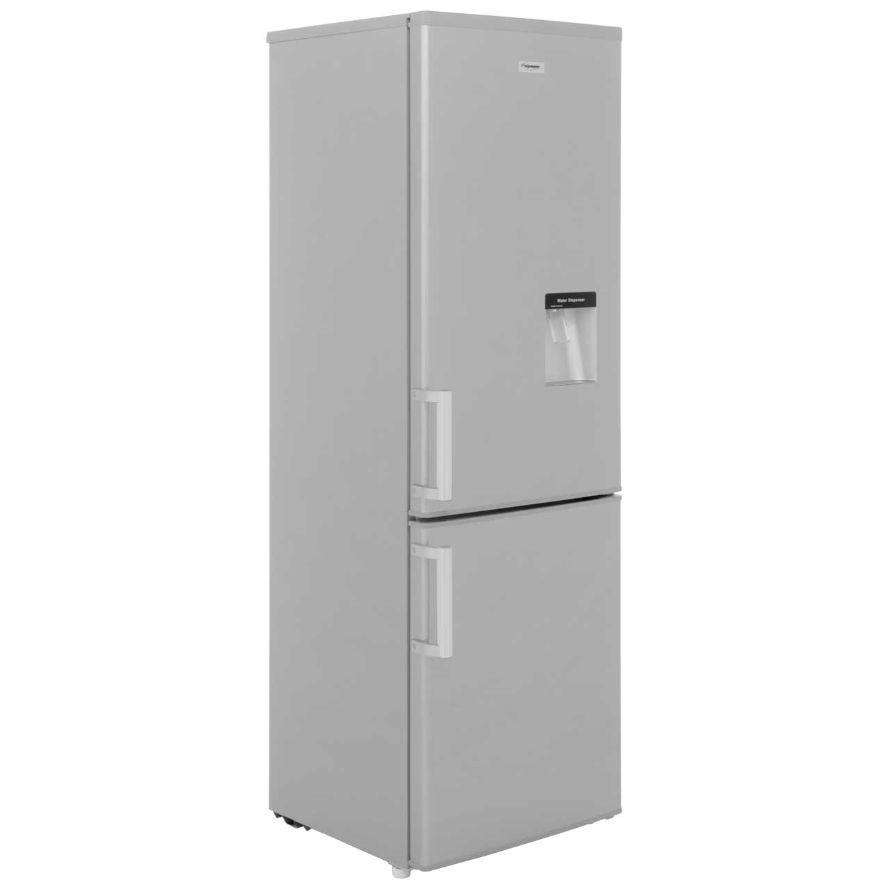 Fridgemaster MC55244D Free Standing Fridge Freezer in Silver