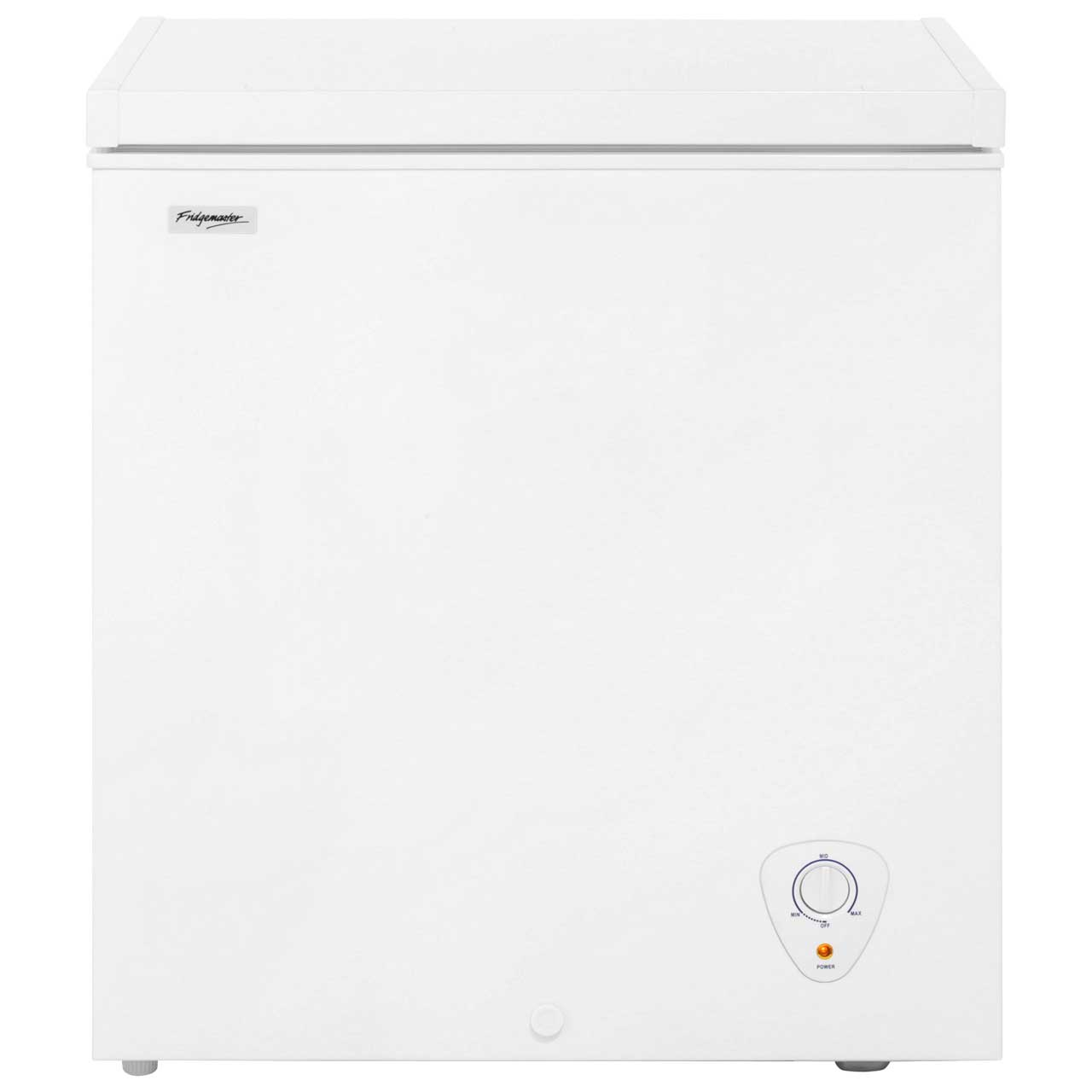 Fridgemaster MCF145 Free Standing Chest Freezer in White
