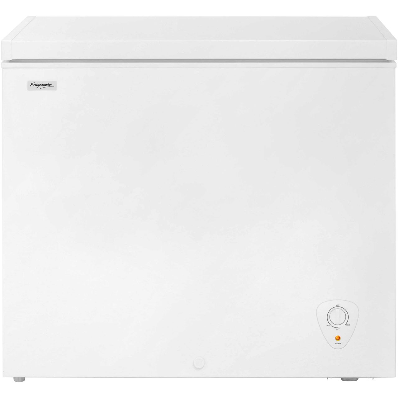 Fridgemaster MCF205 Free Standing Chest Freezer in White