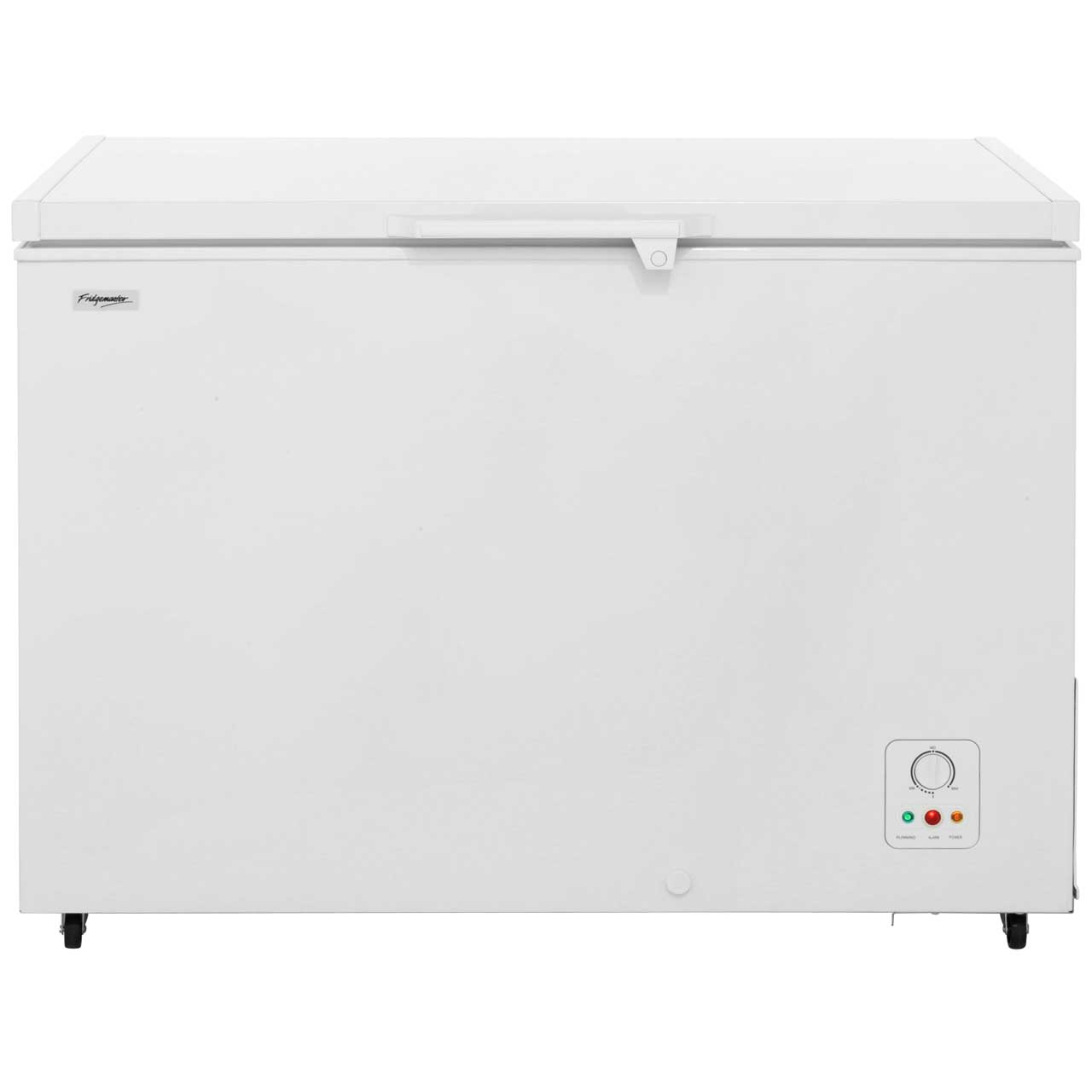 Fridgemaster MCF306 Free Standing Chest Freezer in White