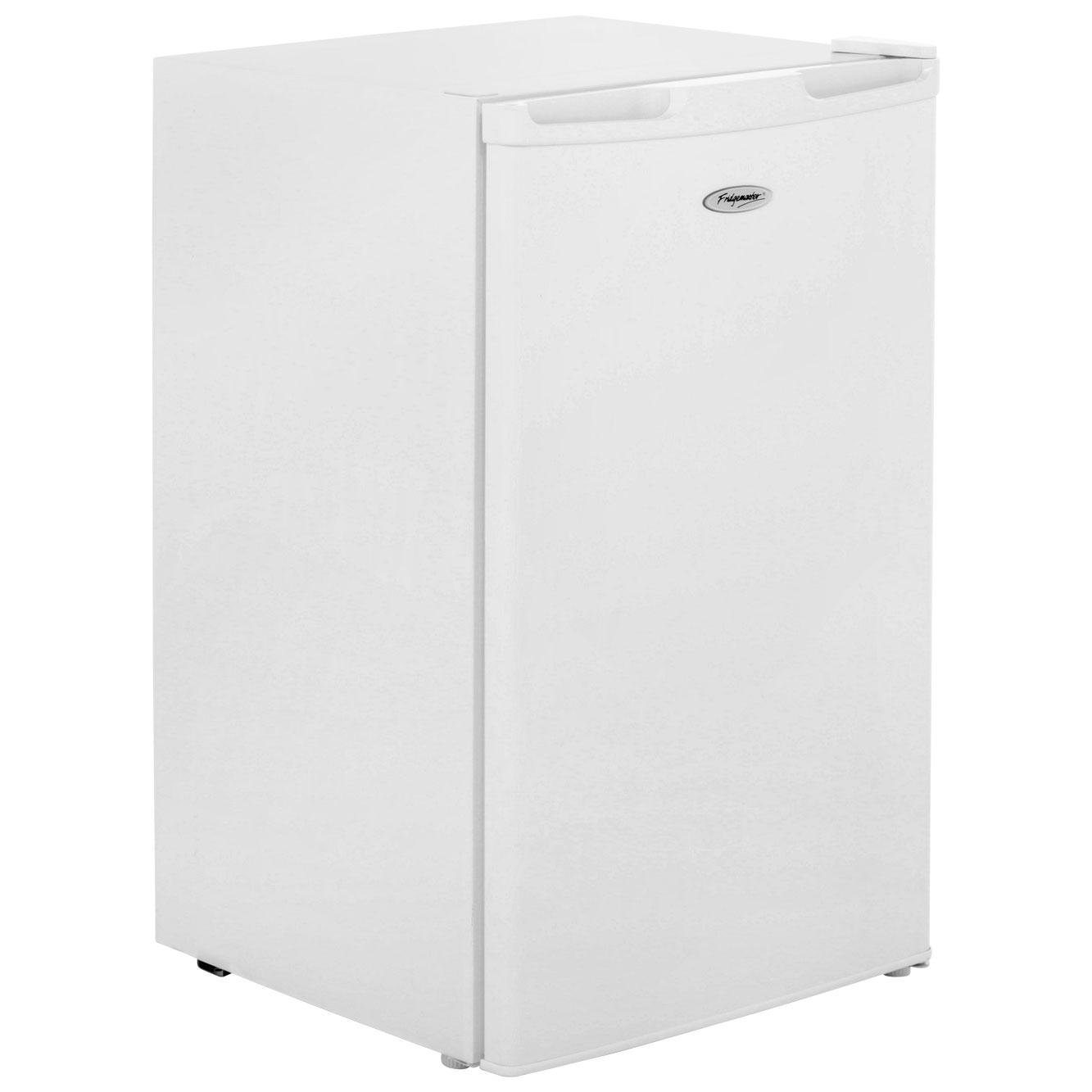 Fridgemaster MUR49100 Free Standing Refrigerator in White
